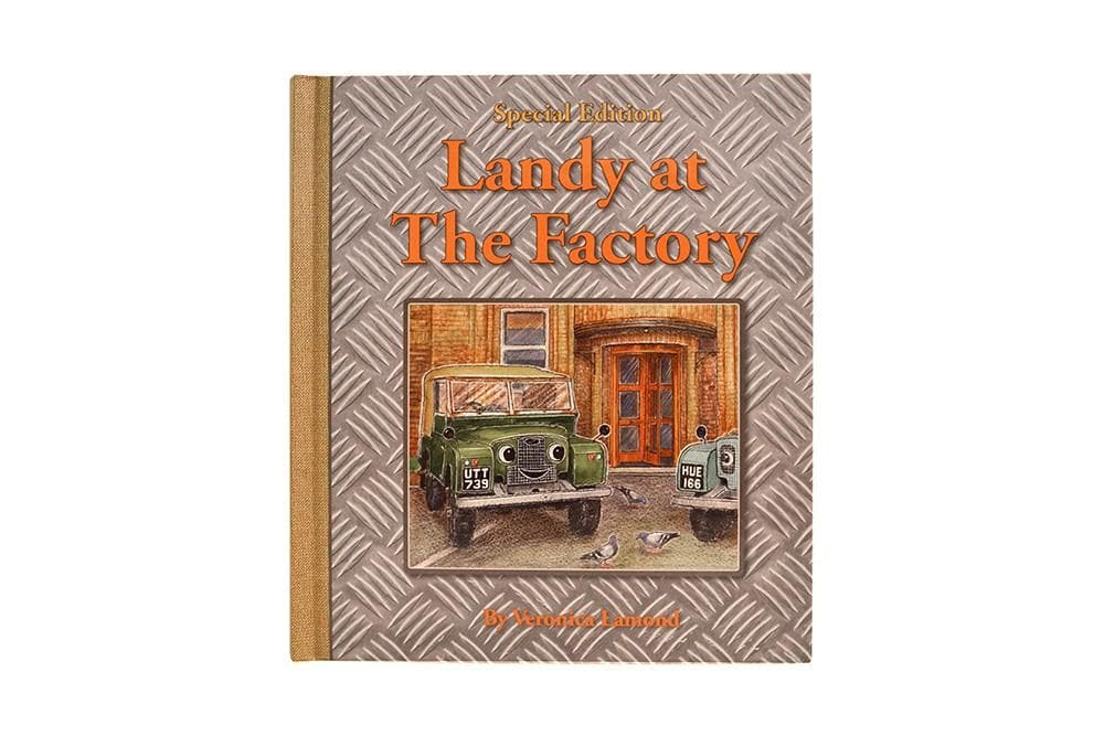Landy Books Landy At The Factory Hardback for Land Rover All Models | BA 1023