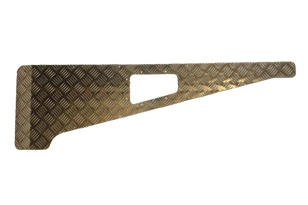 Bearmach 3mm Aluminium Wing Top Chequer Plate for Land Rover Defender | BA 113-3