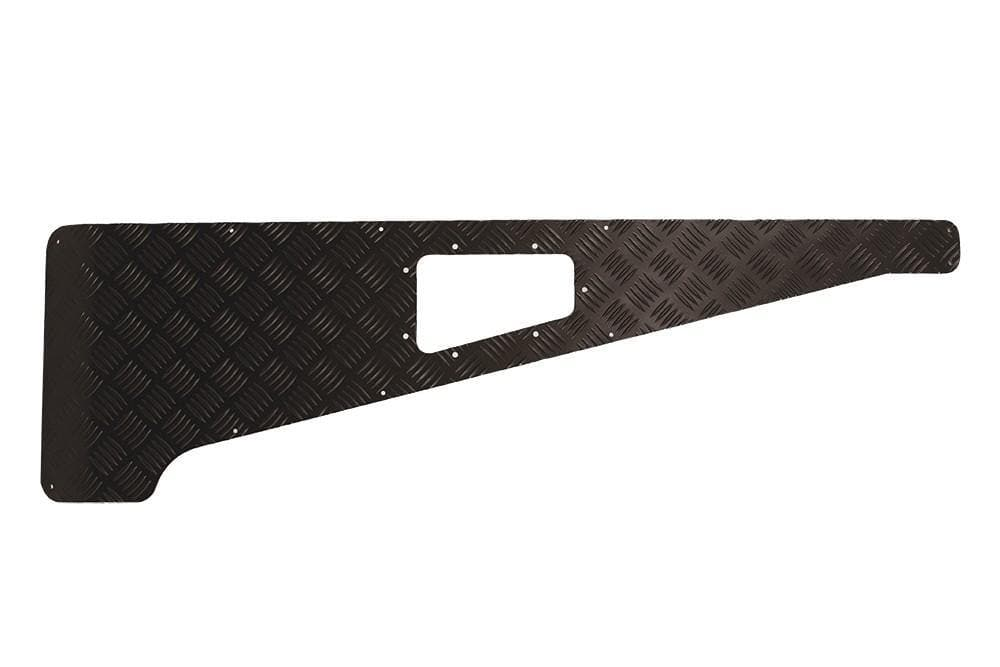 Bearmach 3mm Black Wing Top Chequer Plate for Land Rover Defender | BA 113B-3