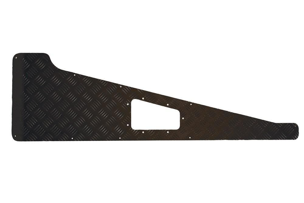 Bearmach 2mm Black Wing Top Chequer Plate for Land Rover Defender | BA 113B