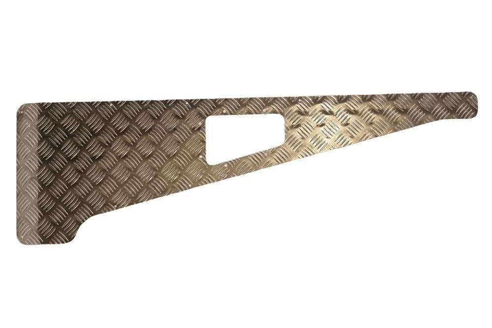 Bearmach 2mm Aluminium Wing Top Chequer Plate for Land Rover Defender | BA 113