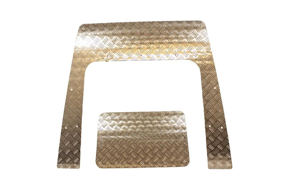 Bearmach Defender Puma 3mm Aluminium Bonnet Chequer Plate for Land Rover Defender | BA 120C