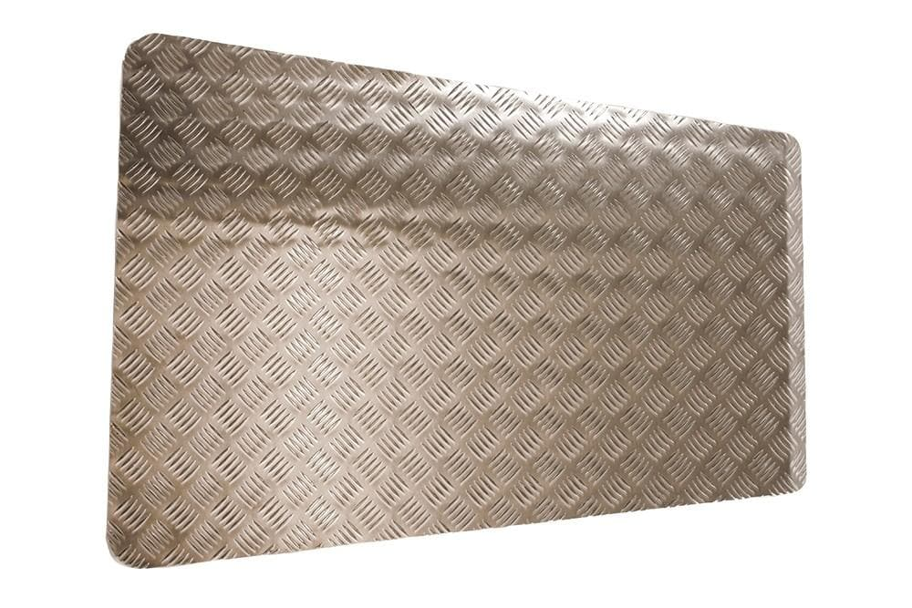Bearmach Defender Pre 2007 3mm Aluminium Bonnet Chequer Plate for Land Rover Defender | BA 120