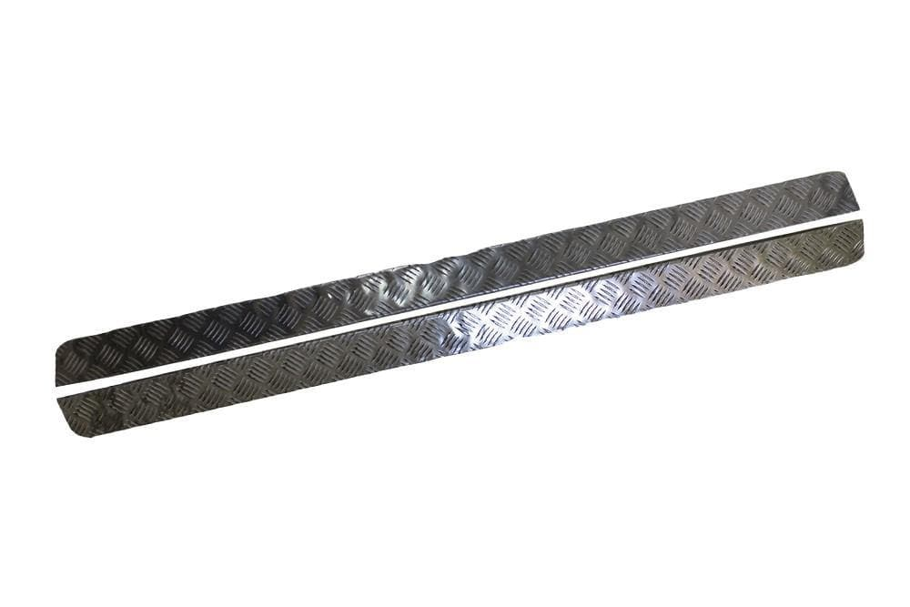 Bearmach 3mm Aluminium Sill Protector for Land Rover Defender | BA 126-3