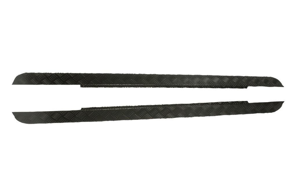 Bearmach 2mm Black Aluminium Sill Protector for Land Rover Defender | BA 126C