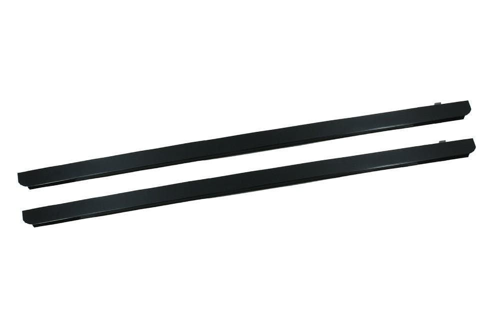 Bearmach 3mm Black Aluminium Sill Protector for Land Rover Defender | BA 127B-3P