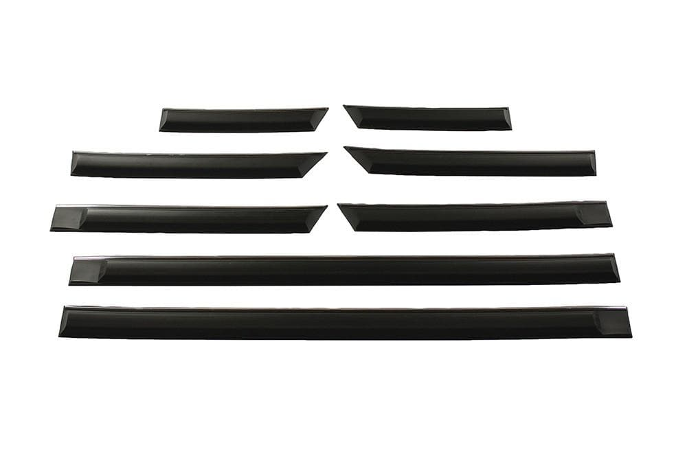 Bearmach Black/Chrome Inlay Side Moulding 4 Door Kit for Land Rover Range Rover | BA 168A