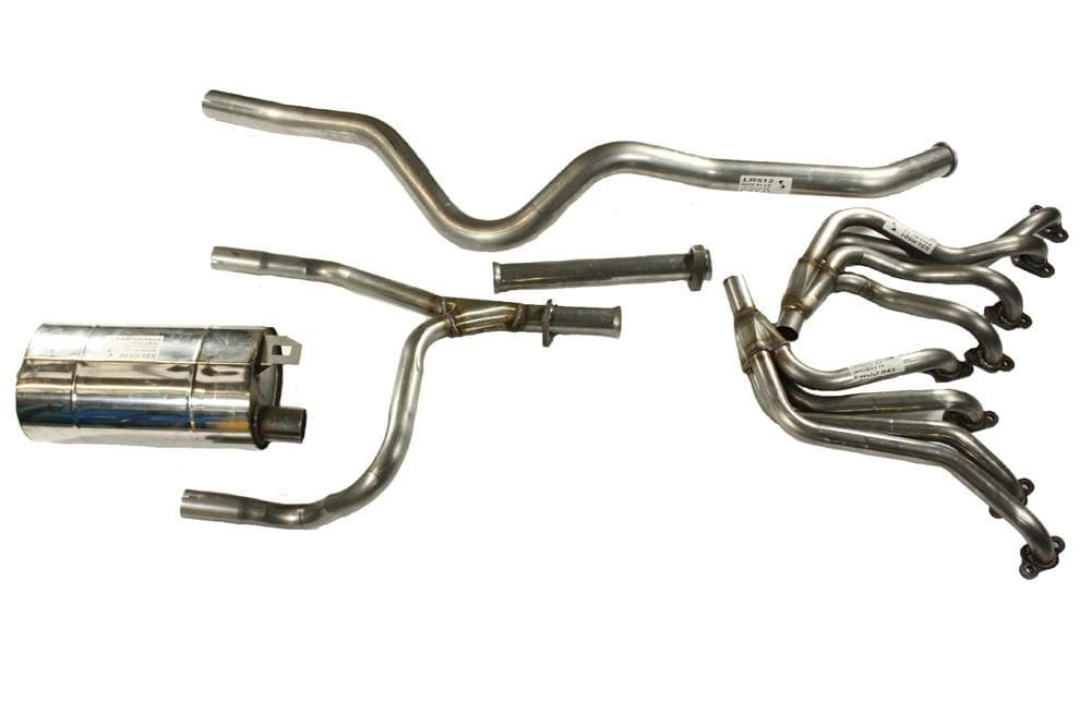 Double S Exhausts Stainless Steel Exhaust System for Land Rover Defender | BA 2192A