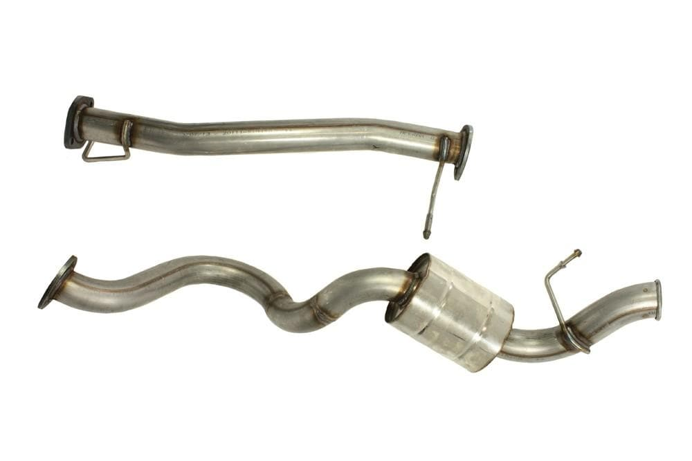 Double S Exhausts Stainless Steel Exhaust System for Land Rover Defender | BA 2554