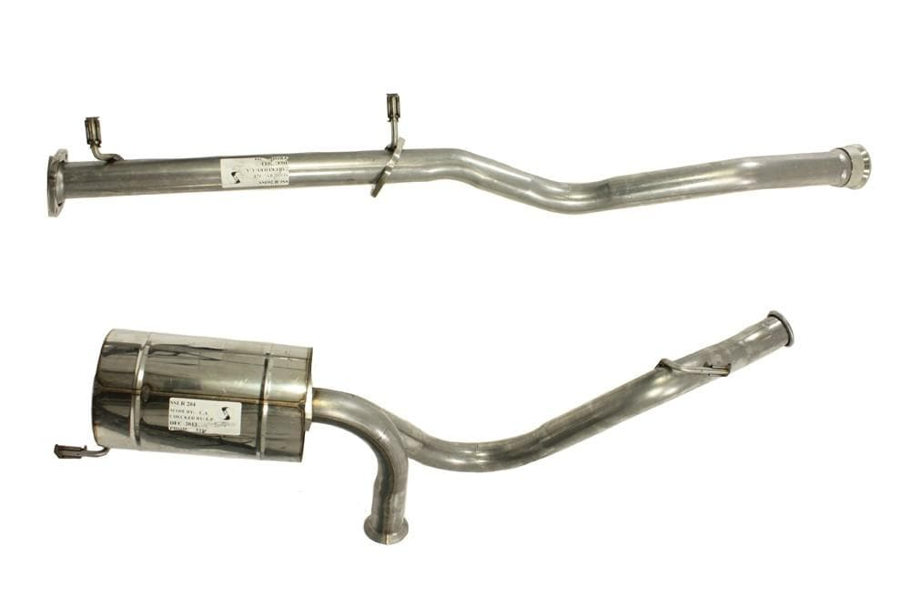 Double S Exhausts Stainless Steel Exhaust System for Land Rover Defender | BA 2556