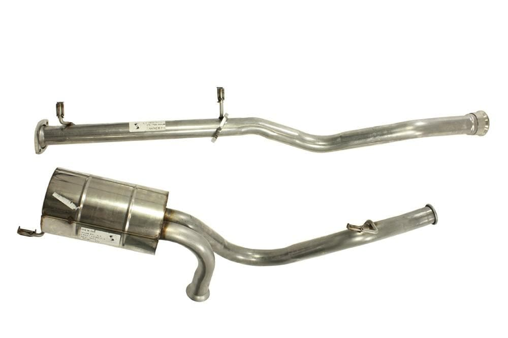 Double S Exhausts Stainless Steel Exhaust System for Land Rover Defender | BA 2557