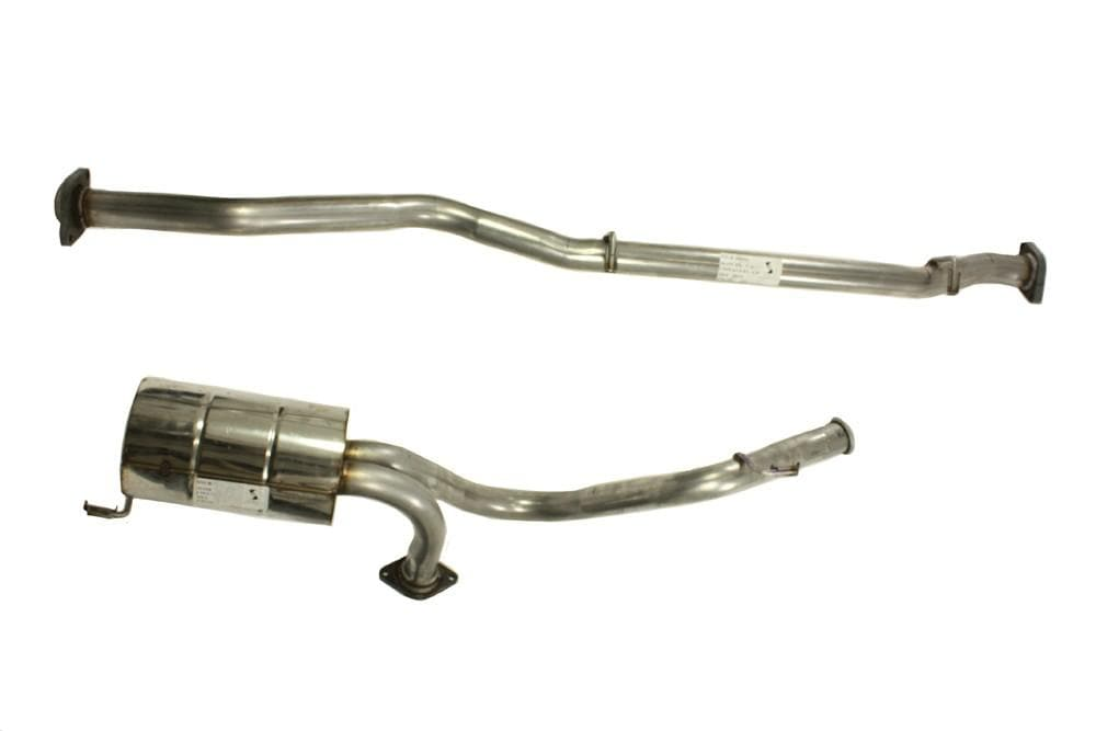 Double S Exhausts Stainless Steel Exhaust System for Land Rover Defender | BA 2560