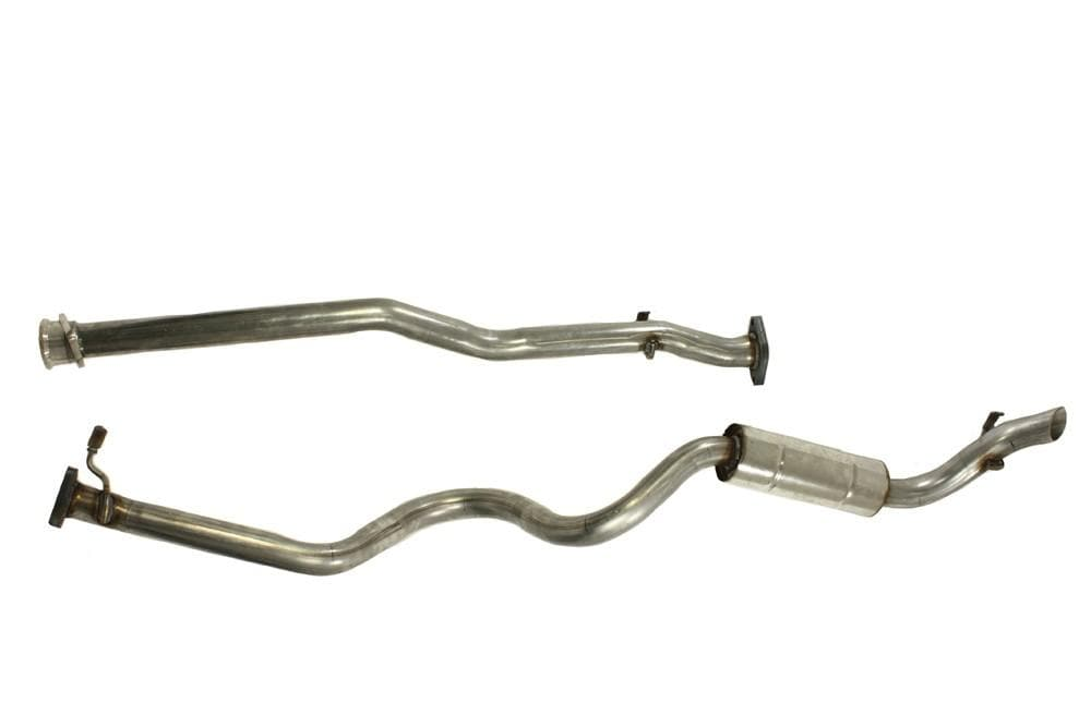Double S Exhausts Stainless Steel Exhaust System for Land Rover Defender | BA 2561