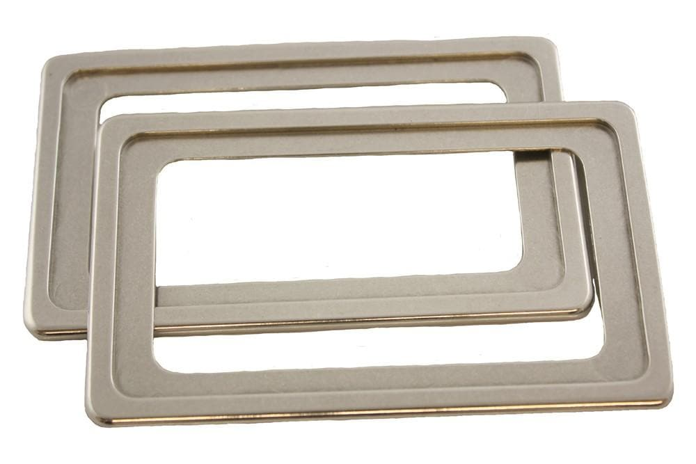 Croytec Aluminium Door Handle Surround Set for Land Rover Defender | BA 2710