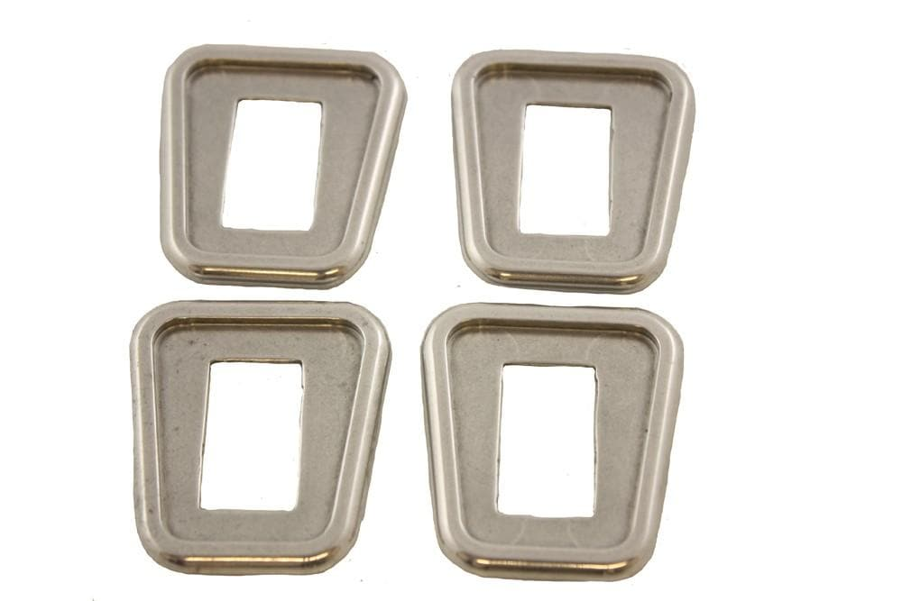 Croytec Aluminium Door Pull Surround Set for Land Rover Defender | BA 2712