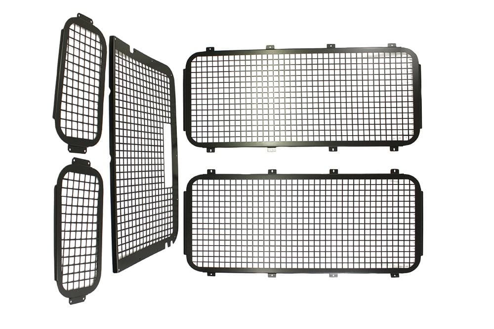 Bearmach Exterior Window Grille Kit with High Level Brake Light for Land Rover Defender | BA 2883