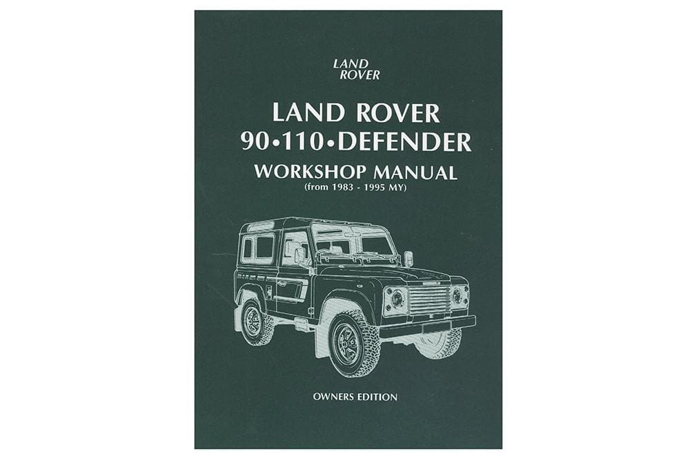 OEM Owners Manual - 90/110 for Land Rover Defender | BA 3027