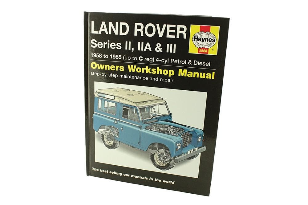 Haynes Haynes Manual - Series 2a & 3 for Land Rover Series | BA 3029A