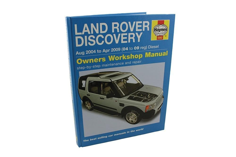 Haynes Haynes Manual - Discovery 3 for Land Rover Discovery | BA 3031B