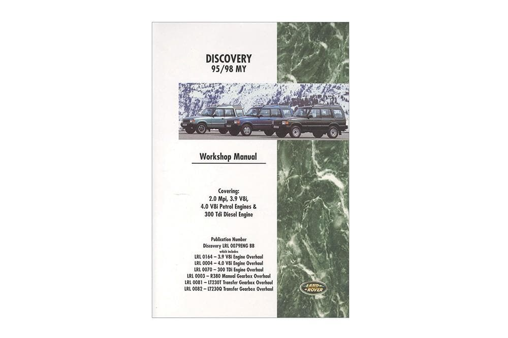 OEM Workshop Manual - Discovery 1995 - 1998 for Land Rover Discovery | BA 3065