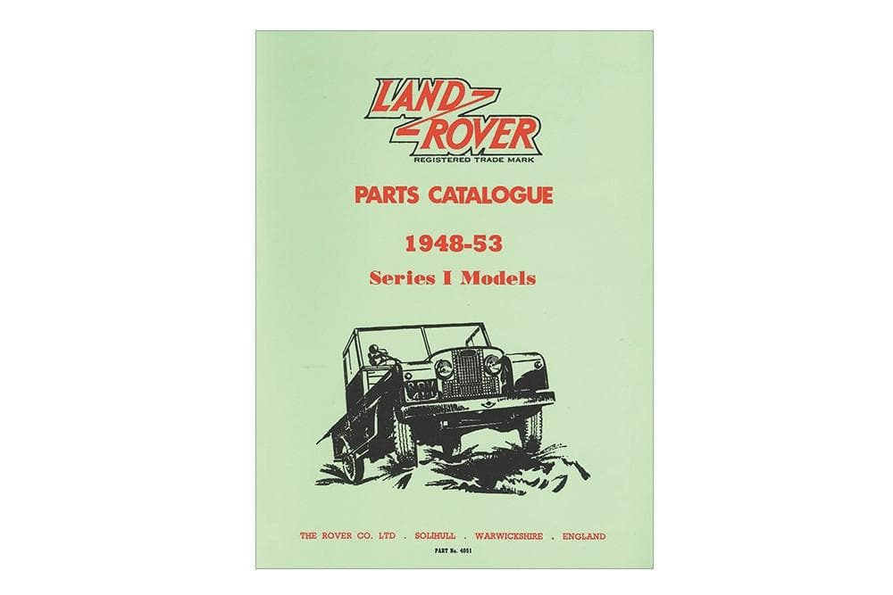 OEM Parts Catalogue - Series 1 1948 - 1953 for Land Rover Series | BA 3066