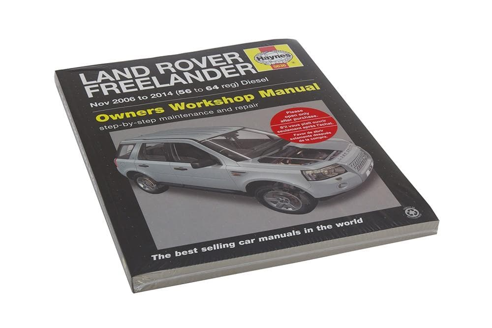 Haynes Workshop Manual - Freelander 2 for Land Rover Freelander | BA 3085B