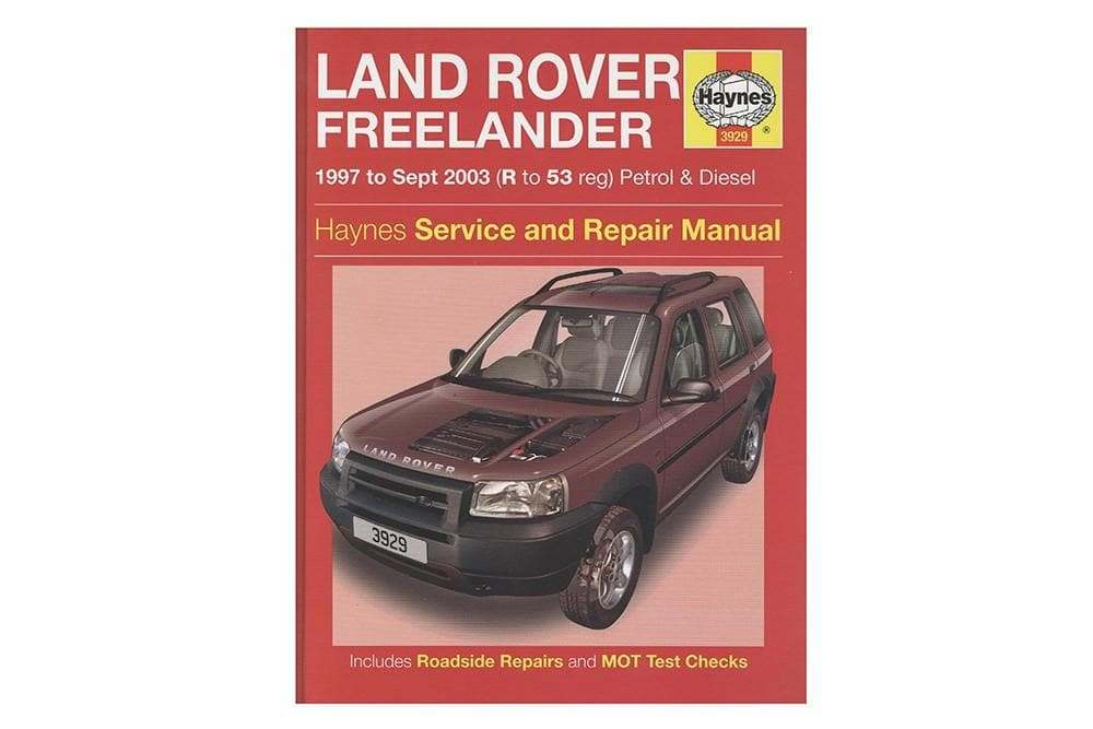 Haynes Haynes Manual - Freelander 1 for Land Rover Freelander | BA 3085