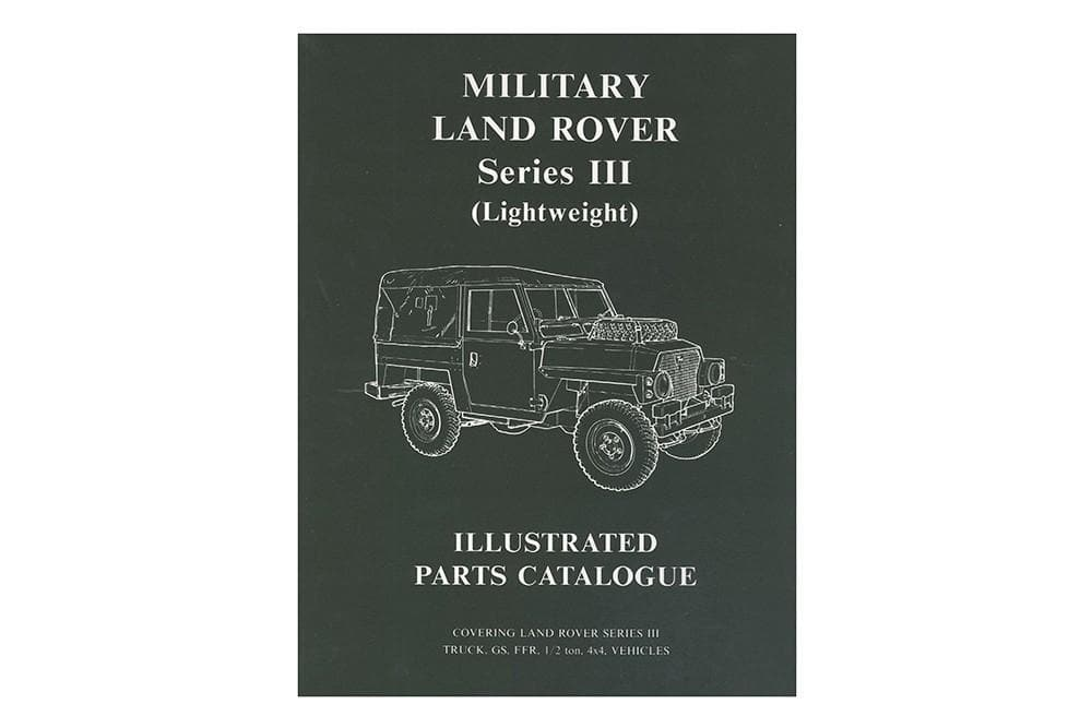 OEM Parts Catalogue - Series 3 Lightweight for Land Rover Series | BA 3086