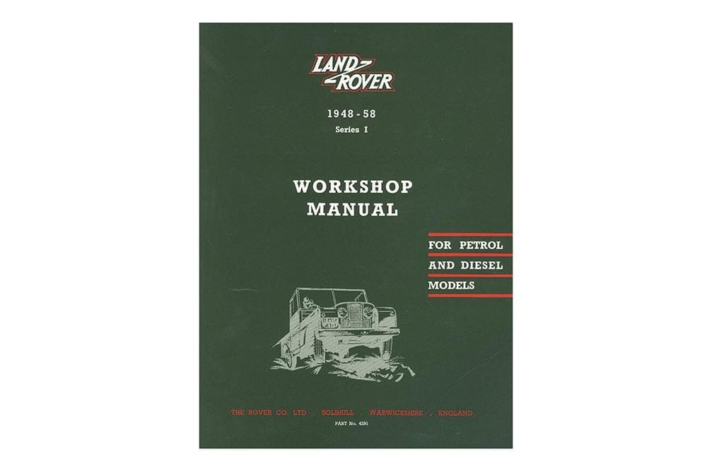 OEM Parts Catalogue - Series 1 for Land Rover Series | BA 3087