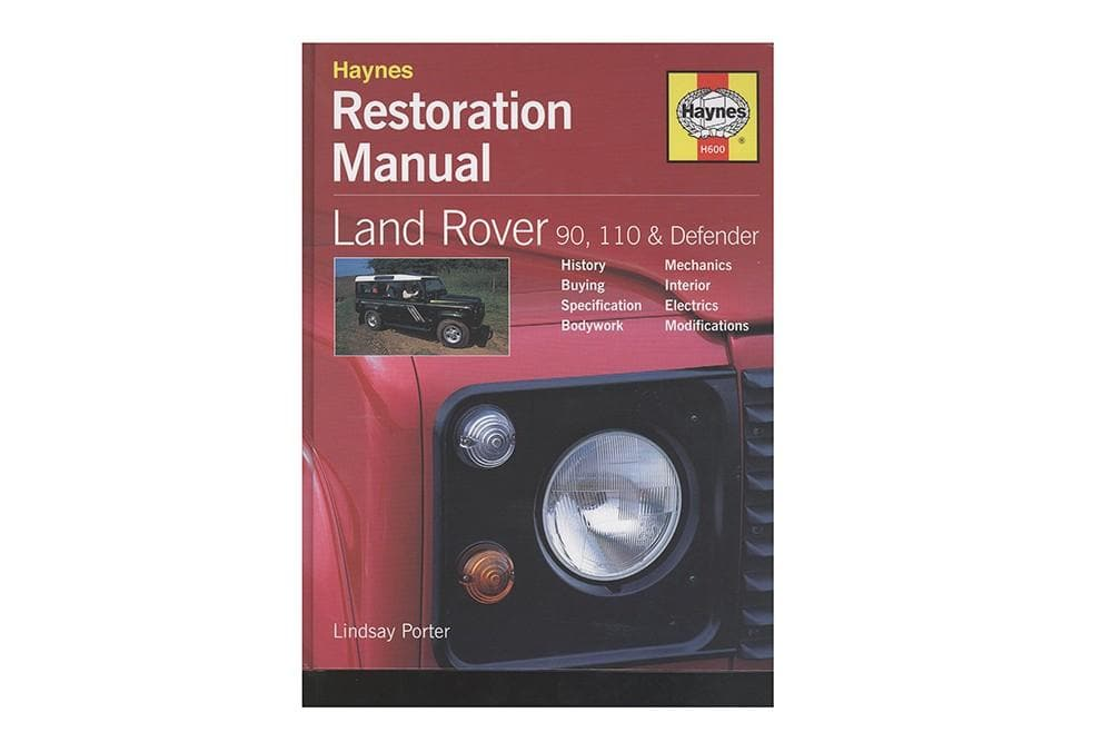 Haynes Restoration Manual - Defender for Land Rover Defender | BA 3108