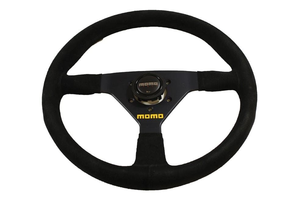 Momo Suede Steering Wheel for Land Rover Defender | BA 3208