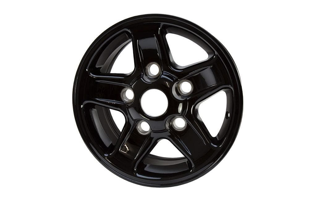 Bearmach 16'' x 7 Black Boost Alloy Wheel for Land Rover Defender, Discovery, Range Rover | BA 3455