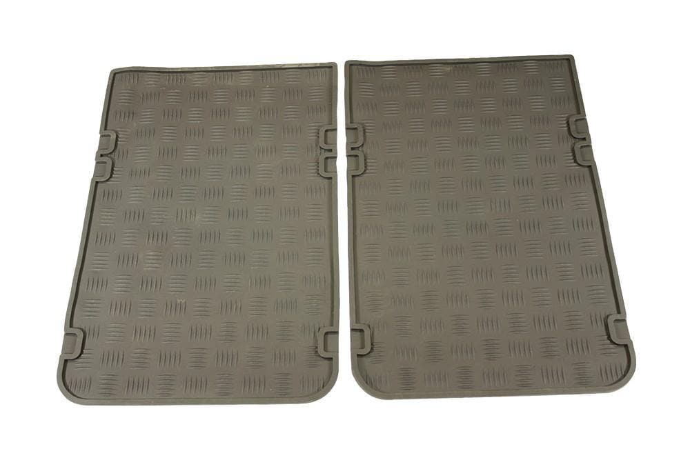 Bearmach 2nd Row Rubber Mat Set for Land Rover Series, Defender | BA 3510