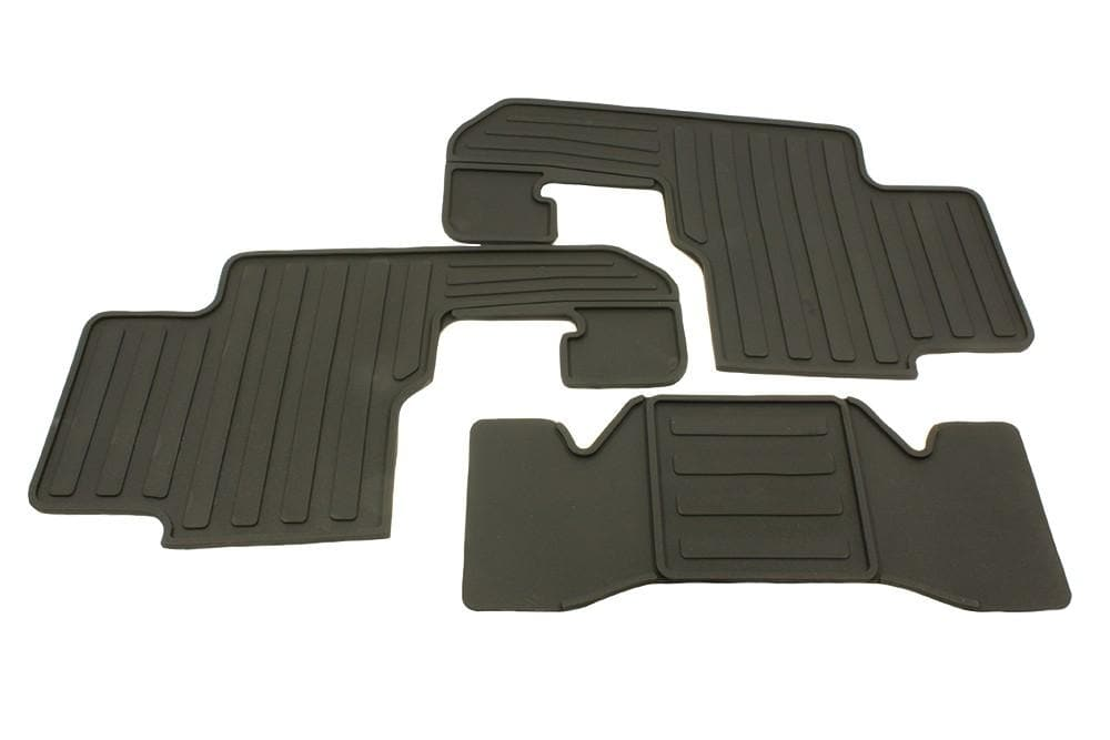 Bearmach Rear Rubber Mat Set for Land Rover Discovery | BA 3515