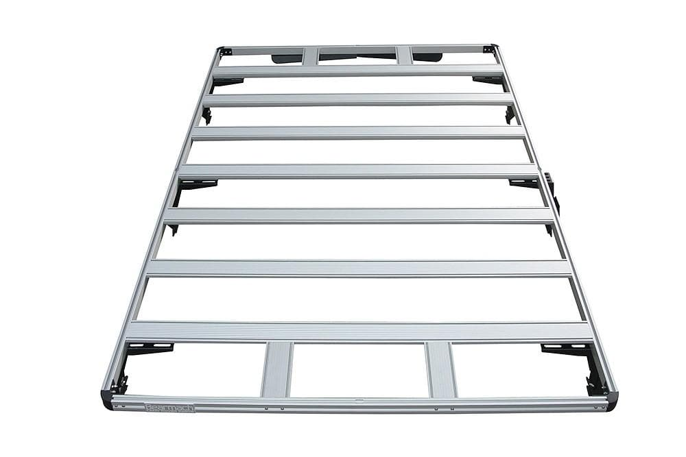 Bearmach Silver Defender 90 Roof Rack for Land Rover Defender | BA 3862