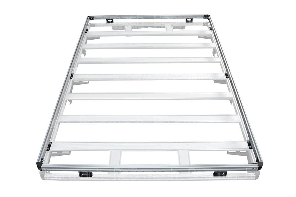 Bearmach Silver Discovery 3 Full Roof Rack Top Rail for Land Rover Discovery | BA 3868TR
