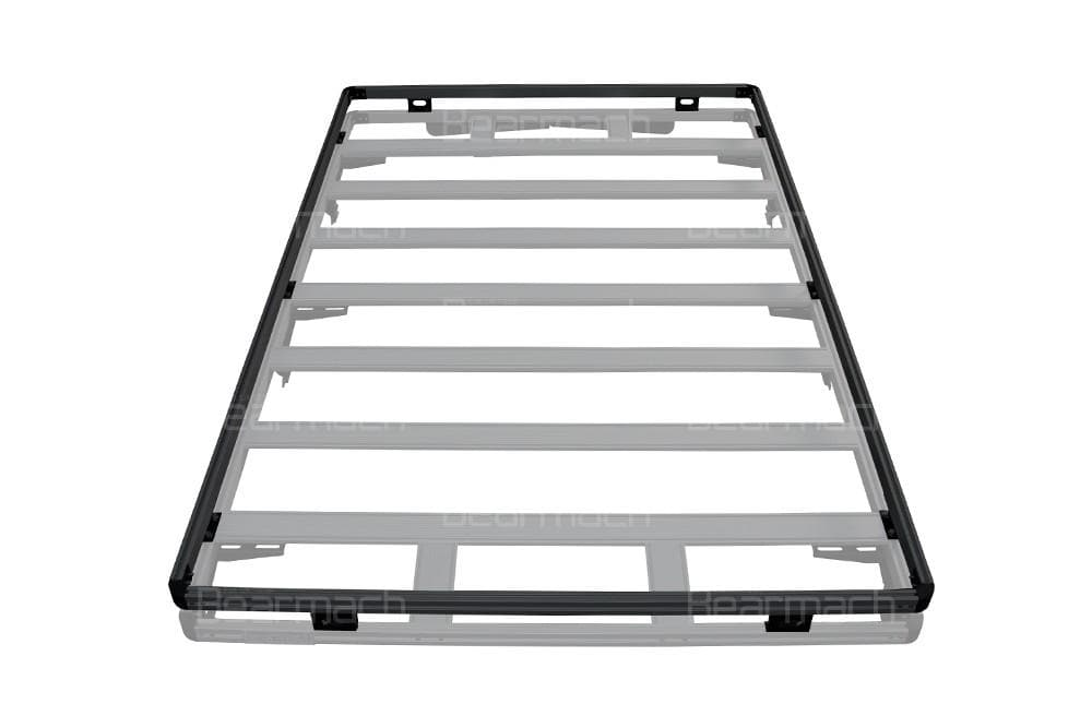 Bearmach Black Discovery 3 Full Roof Rack Top Rail for Land Rover Discovery | BA 3869TR