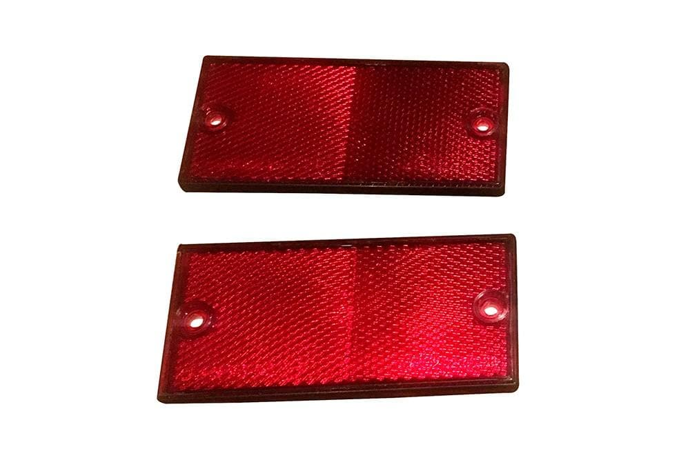 Ring Rectangular Red Reflector Set for Land Rover Series, Defender | BA 3997