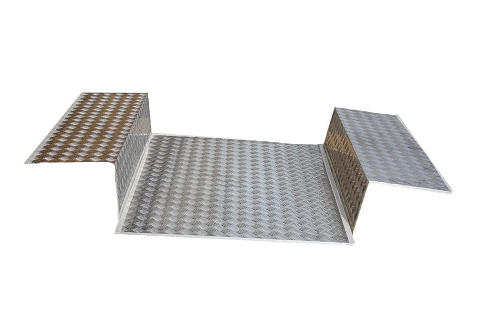 Bearmach Load Liner Chequer Plate for Land Rover Defender | BA 4020