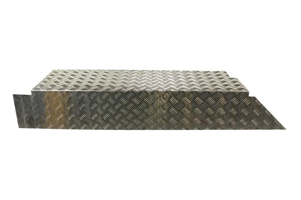 Bearmach Load Liner Side Chequer Plate for Land Rover Defender | BA 4026