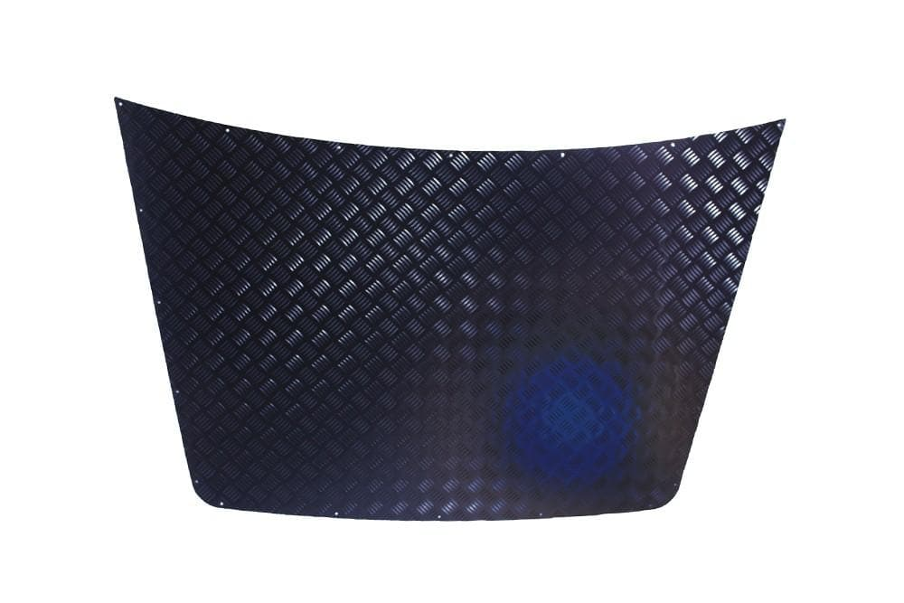 Bearmach Discovery 1 3mm Black Bonnet Chequer Plate for Land Rover Discovery | BA 4027B