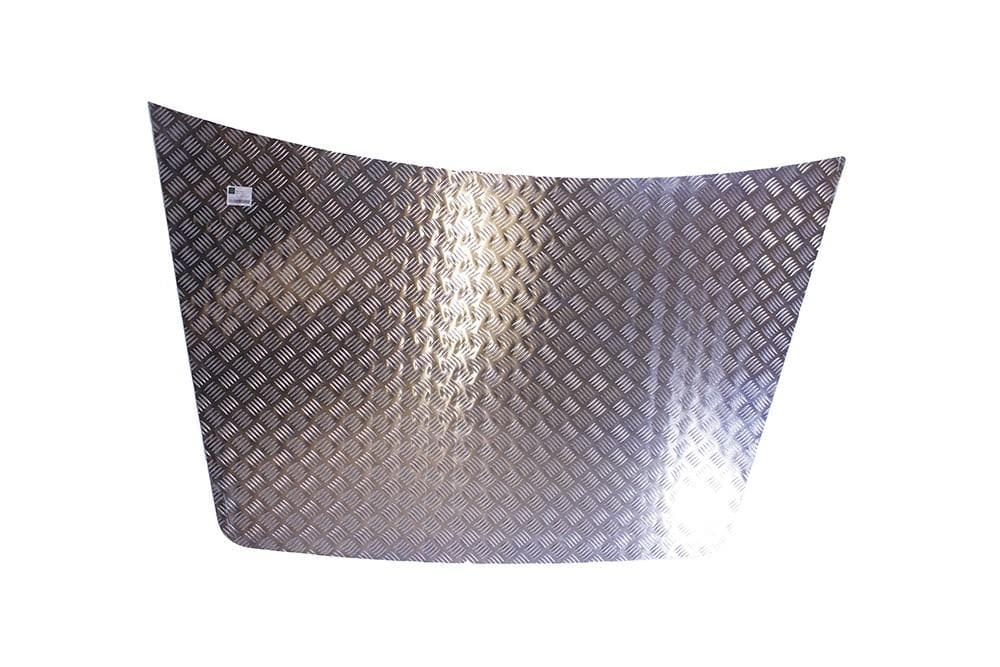Bearmach Discovery 1 3mm Aluminium Bonnet Chequer Plate for Land Rover Discovery | BA 4027