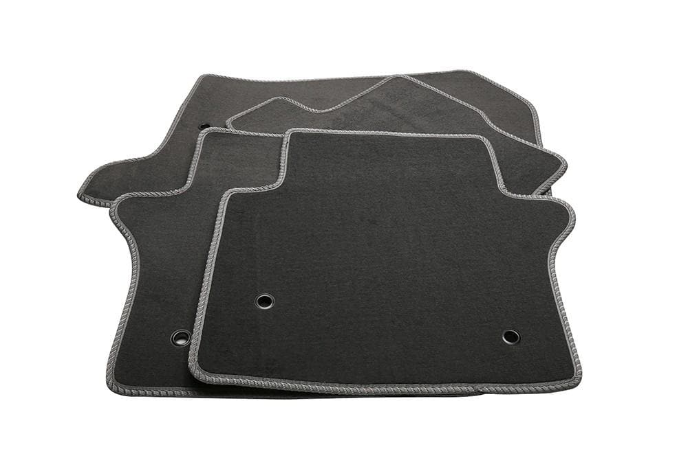 Bearmach Range Rover Sport > 2010 LHD Mid Grey Carpet Mat Set for Land Rover Range Rover | BA 4357