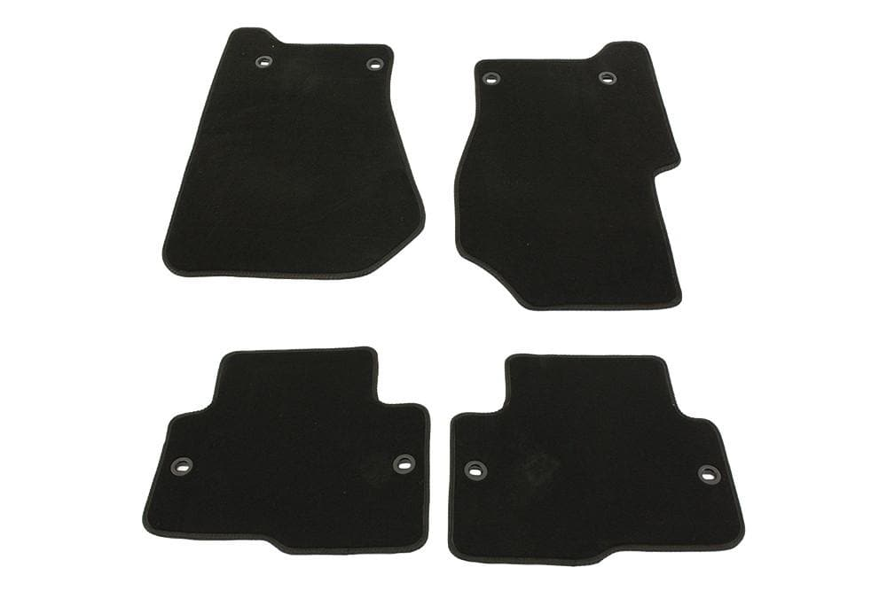 Bearmach Discovery 3 LHD Black Carpet Mat Set for Land Rover Discovery | BA 4364