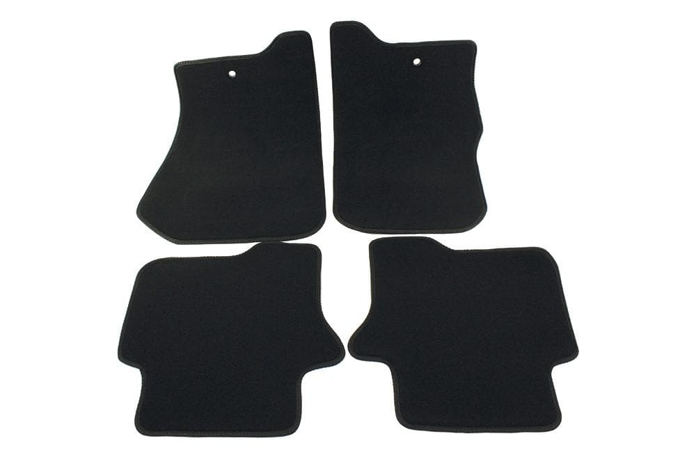 Bearmach Discovery 4 RHD Black Carpet Mat Set for Land Rover Discovery | BA 4366
