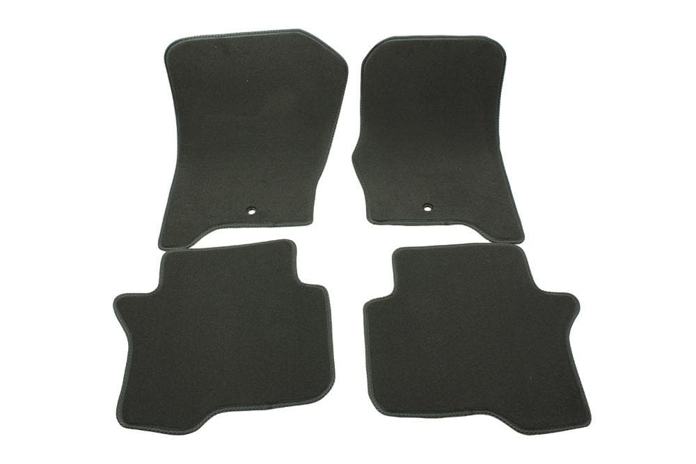 Bearmach Discovery 4 RHD Mid Grey Carpet Mat Set for Land Rover Discovery | BA 4367