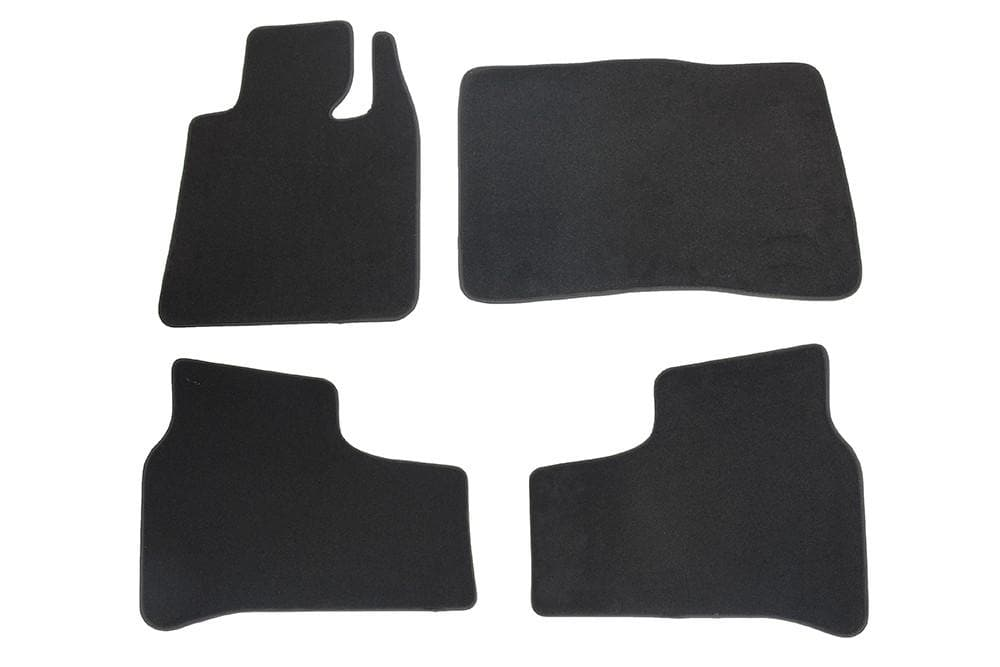 Bearmach Range Rover L322 RHD Black Carpet Mat Set for Land Rover Range Rover | BA 4370