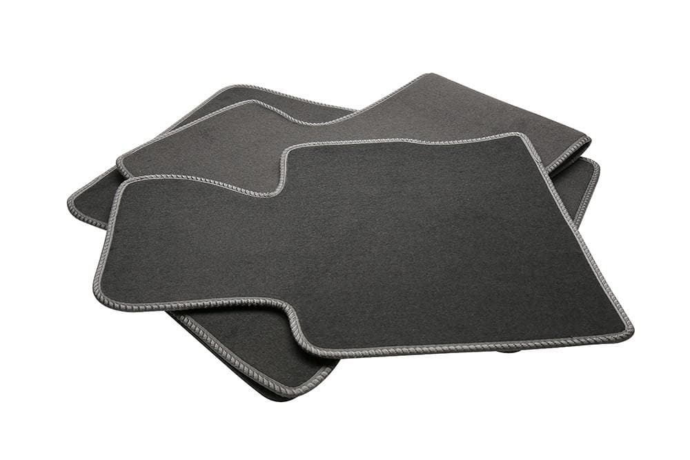 Bearmach Range Rover L322 LHD Mid Grey Carpet Mat Set for Land Rover Range Rover | BA 4373