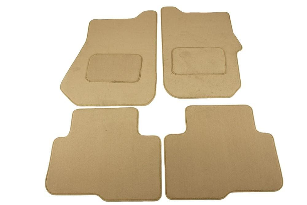Bearmach Discovery 3 RHD Beige Carpet Mat Set for Land Rover Discovery | BA 4431