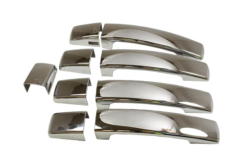 Bearmach Chrome Style Door Handle Set for Land Rover Discovery, Range Rover | BA 4458